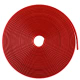 8m Felgenringe Felgenrandaufkleber Felgenschutz Styling Felgenschutzringe Rot