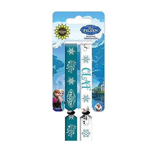 Disney Frozen Olaf con Anna e Elsa Festival Wristband Set
