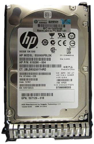'HP 900 GB Hot-Plug Dual-Port SAS HDD - Festplatte (Serial Attached SCSI (SAS), 900 GB, 6,35 cm (2.5)) -