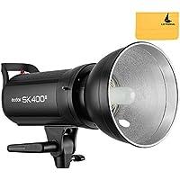 Nuevo Godox SK400II Built-in 2.4G inalámbrica X sistema Fotografía 400Ws Estudio Flash Strobe lámpara Luz 220V(SK400II)