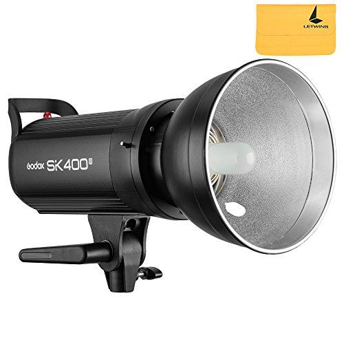 Neue Godox sk400ii Built-in 2.4G Wireless X System Fotografie 400Ws Studio Flash Strobe Lampe Licht 220V (sk400ii) (Monolight Flash Licht Strobe)