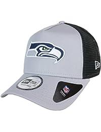 A NEW ERA Gorra Ajustable NFL Seattle Seahawks Team Esnl Trucker Gris Negro 9ab1662b083