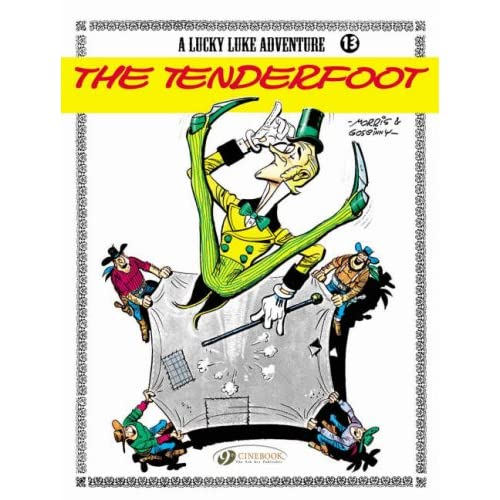 Lucky Luke - tome 13 The Tenderfoot (13)