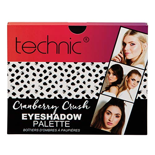 Christmas 2018 Technic Cranberry Crush Eyeshadow Palette Girls Ladies Gift