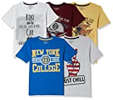 #5: Cherokee Boys' T-Shirt (Pack of 5)
