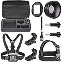 Neewer 6-in-1 Essential ottico Lens Kit di accessori per GoPro Hero