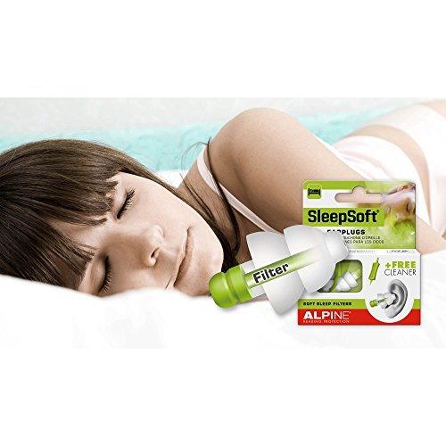 alpine sleepsoft tappi per orecchie per dormire