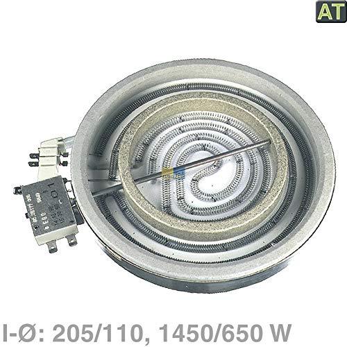 LUTH Premium Profi Parts Radiador Radiante 205/110mm?1450