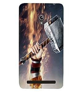 PRINTSWAG HAMMER Designer Back Cover Case for ASUS ZENFONE 6 A601CG