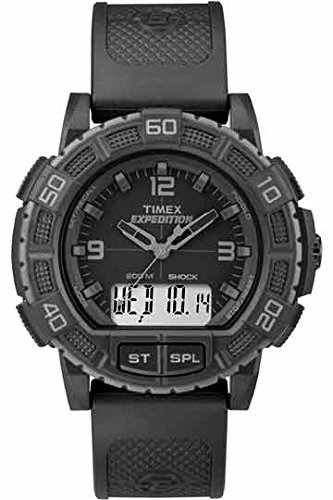 Timex Herren-Armbanduhr Man Expedition Shock Combo Blackout Analog - Digital Quarz TW4B00800 (Combo Timex Expedition)