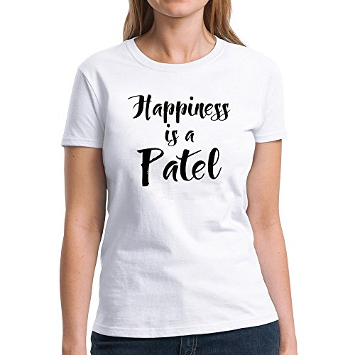 Eddany Happiness Is a Patel Women T-Shirt
