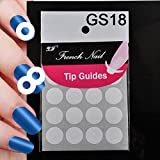 LUFA 18 Style Diy Chic manicura clavo arte consejos cinta adhesiva #10