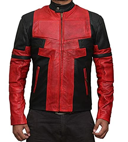 Resident Evil 6 Costume - Leon S Kennedy Jacket - Real Leather (XXXL)