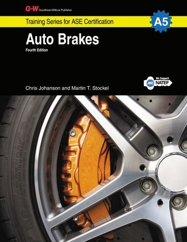 Auto Brakes A5 G W Training Series For Ase Certification
