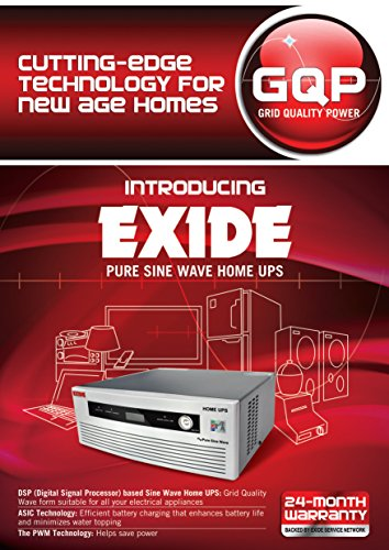 Exide 1450 VA 24V Pure Sinewave Home UPS Inverter - Digital Display