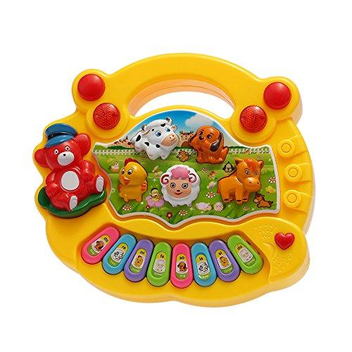 Goolsky Coolplay Baby Kind Kleinkind Musical Educational Animal Farm Klavier Elektronische Tastatur Musik Entwicklung Kinder Spielzeug