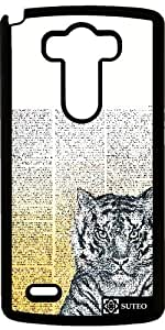 Coque LG G3 – Tigre et dictionnaire - ref 909