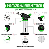 Blow Torch - Best Creme Brulee Torch - Refillable Professional Kitchen Torch