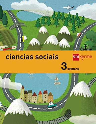 Ciencias sociais. 3 Primaria. Celme - 9788498545166
