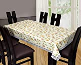 #4: Yellow Weaves Waterproof Floral Printed Dining Table Cover 60*90 Inches