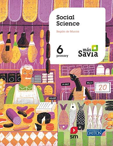 Social Science. 6 Primary. Más Savia. Murcia