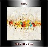 Gemälde abstrakt Bild handgemalt Unikat Zenic Enjoy