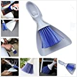 #1: SHOPEE BRANDED Car Dashboard Vent Cleaner Broom Dustpan Window Keyboard Cleaning Brush Tool Set (COLOR MAY VERY)