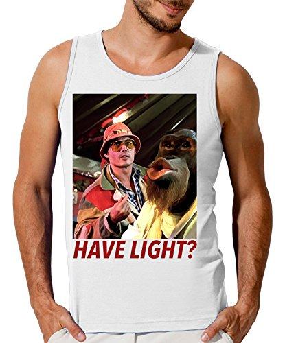 Fear and Loathing in Las Vegas Monkey Design Men's Tank Top T-Shirt Medium