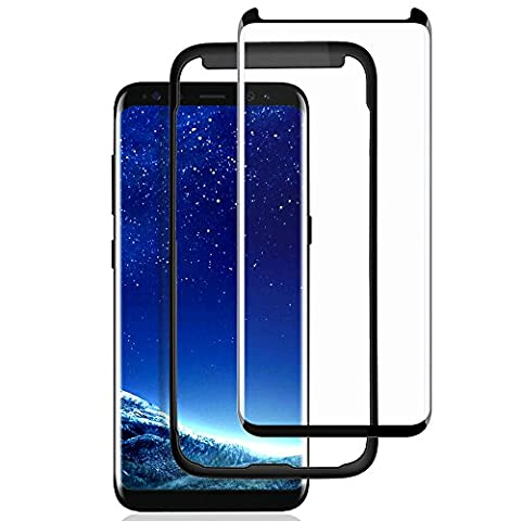 Galaxy S8 Screen Protector,ACETEND [with Installation Tray] 3D Curved S8