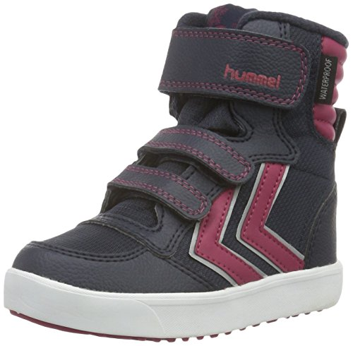 hummel Unisex-Kinder Stadil Super Poly Boot JR High-Top, Blau (Total Eclipse), 36 EU