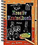 Kreativ-Kratzelbuch: Ponys: für Mädchen ab 5 Jahre