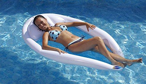 Kerlis 13008Hängematte Surf Matratze Aufblasbare Schwimmring weiß