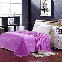 HHYWS Morbido e caldo buttare letto divano buttare coperta colore