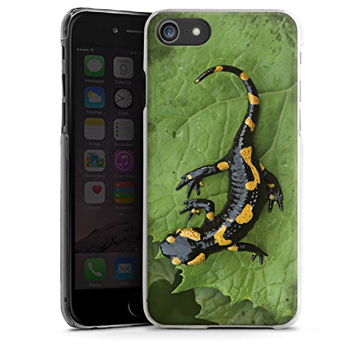 Apple iPhone X Silikon Hülle Case Schutzhülle Salamander Echse Reptil Hard Case transparent