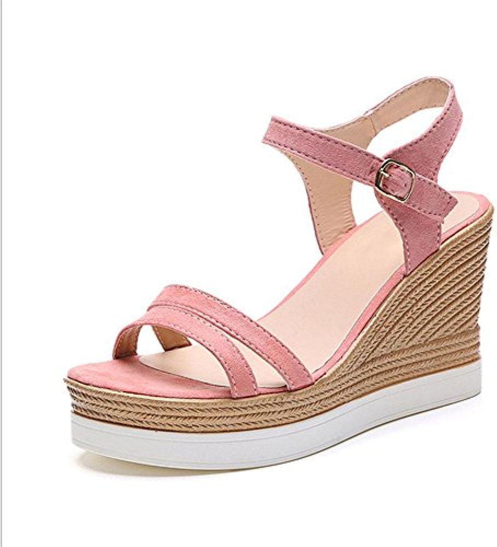 Sandali parola stile cinghie incrociate delle donne fondo pesante scarpe casuali sandali aperti femminile selvatici... | Nuova voce  | Scolaro/Ragazze Scarpa