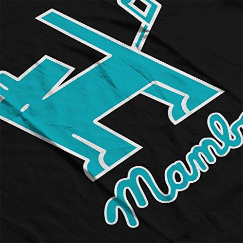 Mambo Dog Nut Blue Women's Sweatshirt Black