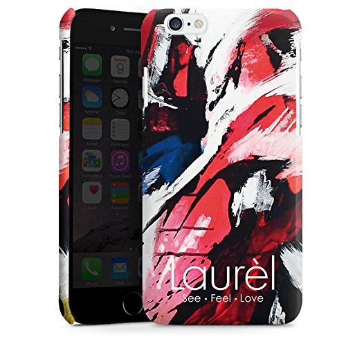 Apple iPhone 5s Housse Étui Protection Coque Coque artistique Laurel Cas Premium brillant