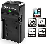 Baxxtar Razer 600 II Ladegerät 5in1 - kompatibel für Akku Sony NP-FZ100 - USB Ausgang zum Laden von Drittgeräten, Smartphones usw.