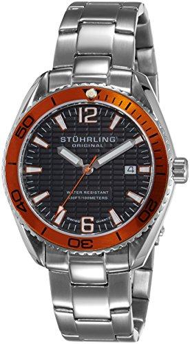 51U4LXRM2BL - Stuhrling Original Aquadiver Mens 515.04 watch