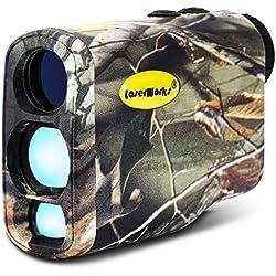 laserworks 1000m Multifuntional Télémètre laser de golf pour la chasse, mesure de brouillard, imperméable... - Camouflage - Professional Edition