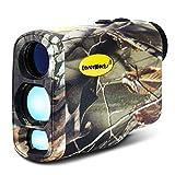 LaserWorks 1000m Multifuntional Laser-Entfernungsmesser für Jagd Golf, Nebel Mess-, wasserdicht... - camouflage - Professional Edition