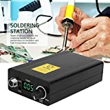 Stazione di saldatura, Display digitale Stazione di saldatura Set Strumento di saldatura elettrico con regolatore di temperatura(EU Plug)