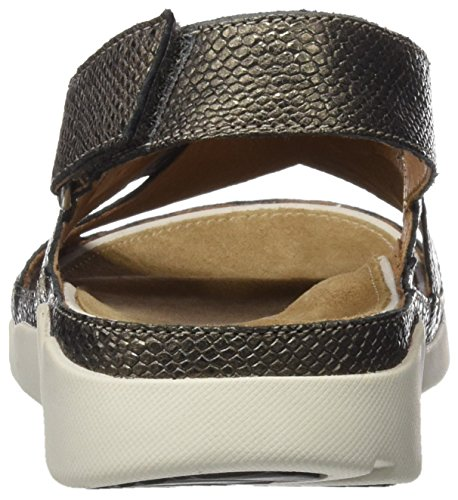 Clarks Tri Alexia Damen Sandalen Mehrfarbig (Metallic Leather)