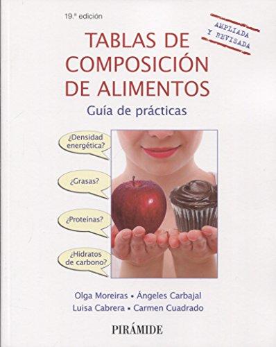 Tablas de composición de alimentos: Guía de prácticas (Ciencia Y Técnica) por Olga Moreiras Tuni