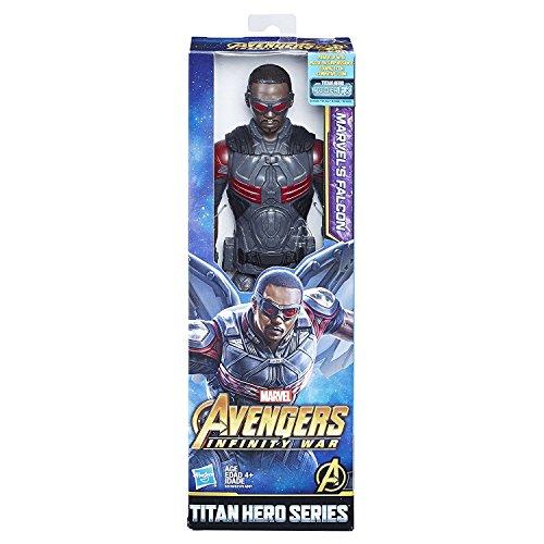 Hasbro Marvel Avengers Infinity War - E2219 - Titan Hero Series - Marvel's Falcon mit Power FX Port