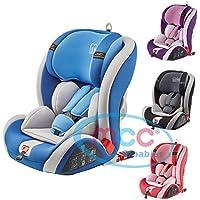 MCC Convertible bebé asiento de coche ISOFIX, Grupo 1, 2y 3de 9–36kg (azul)