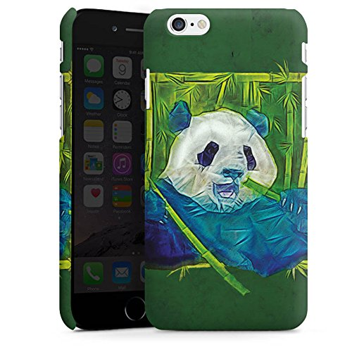 Apple iPhone X Silikon Hülle Case Schutzhülle Granda Panda Pandabär Bär Premium Case matt