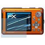 atFoliX Displayschutzfolie für Panasonic Lumix DMC-FT2 Schutzfolie - 3 x FX-Clear kristallklare Folie