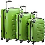 Packenger Koffer 3er-Set Marina, M/L/XL, Grün