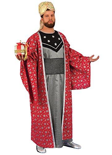 Für Erwachsene König Kostüm Balthasar - Chiber - Heilige Drei Könige Caspar-Kostüm für Erwachsene